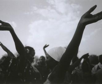 Dinka Celebration Dance, Western Darfur, Sudan by Padraig Grant