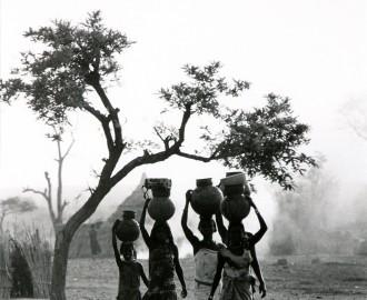 Watercarriers, Western Darfur, Sudan by Padraig Grant