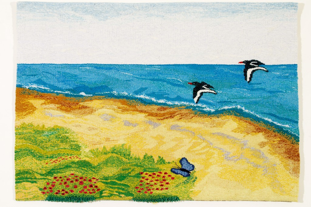 Oystercatchers by Boolavogue Textile Studio
