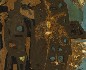 Abstract Composition by Gerard Dillon