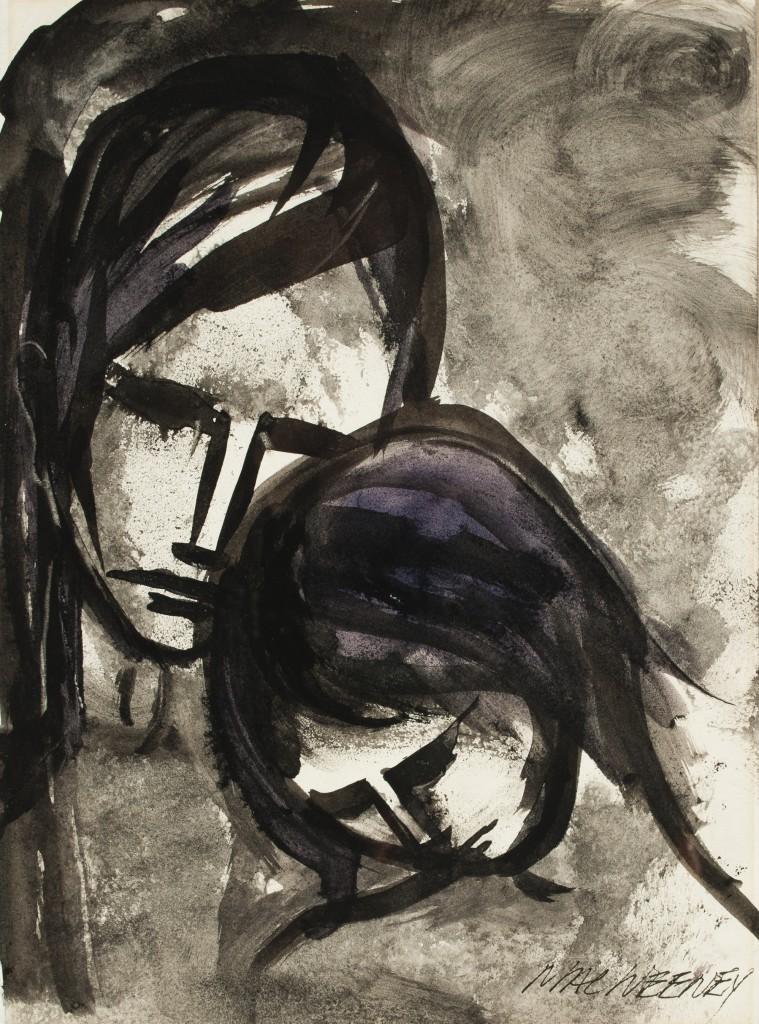 Two Girls by Leslie MacWeeney