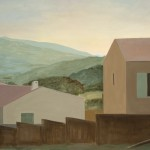 Houses with Fences by Eithne Jordan