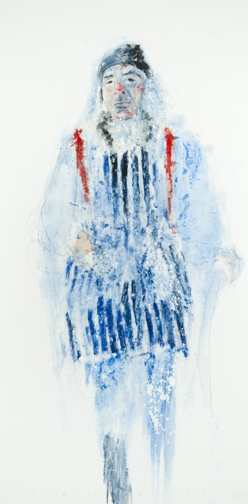 Portrait of Colm Brennan by Neil Shawcross
