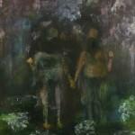 Couple Holding Hands by Desmond Shortt
