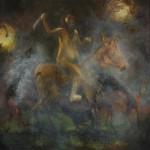 Man On A Horse by Desmond Shortt