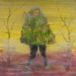 Man Wearing A Hedge by Desmond Shortt