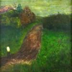 Road With Half Man Half Lightbulb by Desmond Shortt