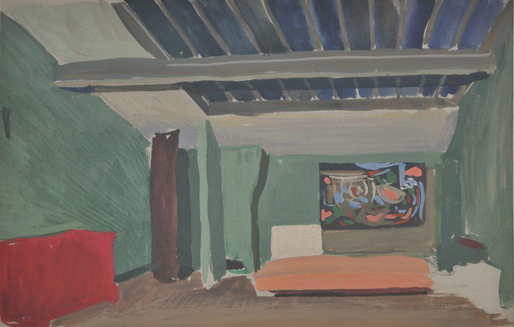Attic Bedroom, Paris by Sean O'Sullivan