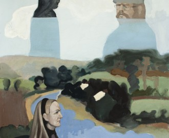 Large Landscape With Figure by Paul Funge