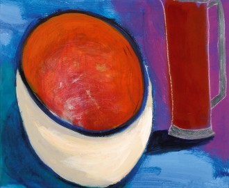 Coffee And Bowl by Kathleen Delaney
