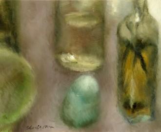 Three Bottles by Elizabeth O' Brien